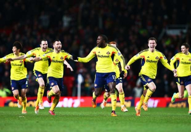 Pemain Sunderland Berebut Penalti