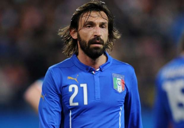 Andrea Pirlo Man Of The Match Inggris Kontra Italia