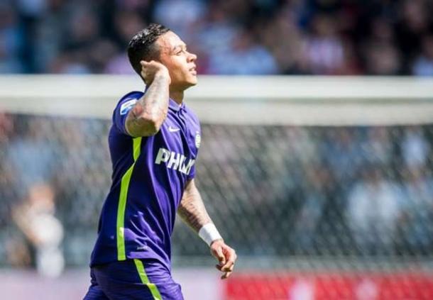 Memphis Depay Raih Tropi Pemain Muda Belia Terbaik Di Eredivisie