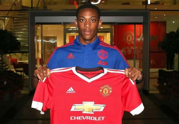 Untuk Anthony Martial, Manchester United Keluarkan Dana £57,6 Juta