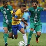 Brazil Gagal Tumbangkan Irak