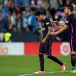 Kekalahan Barca Berujung Kartu Merah Neymar