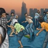Anak Remaja Tawuran Di  Jakarta Timur