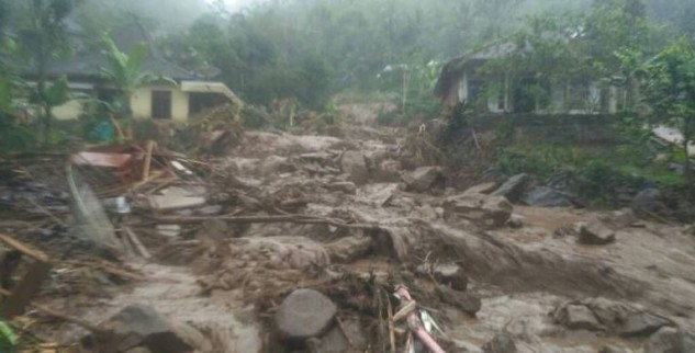 Lima Orang Tewas Akibat Banjir Bandang Di Magelang