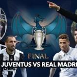 Juventus Berjumpa Madrid Di Cardiff
