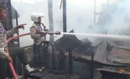 Pemukiman Padat Penduduk, 32 Rumah Di Binjai Hangus Terbakar