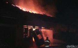 Kebakaran Hanguskan 1 Tuko Konter Handphone Di Purworejo
