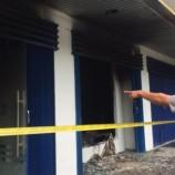 Mobilnya Ditarik, Seorang Nasabah Bakar Kantor Mandiri Tunas Finance Di Medan