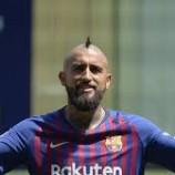 Bersama Barcelona, Vidal Yakin Dapat Raih Juara Liga Champions