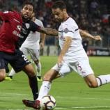 Waktu Berkunjung Ke Markas Cagliari, AC Milan Gagal Meraih Kemenangan