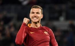 Dzeko Punya Catatan Gol yang Kontras di Serie A dan Liga Champions Musim Ini