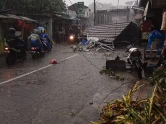 Puting Beliung Akibatkan Pohon Tumbang di Sejumlah Titik di Bogor