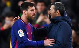 Lionel Messi Inginkan Ernesto Valverde Bertahan Lebih Lama Di Barcelona