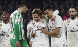Hasil Liga Spanyol: Real Madrid Menang 2-1 atas Real Betis