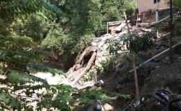 Hujan Deras, 2 Rumah Warga di Grobogan Rusak Terkena Longsor